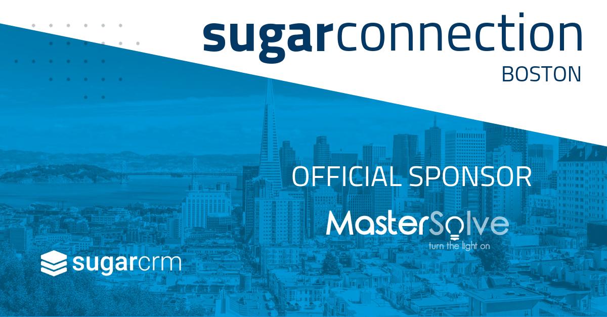 MasterSolve Sponsor & Elite SugarCRM Partner
