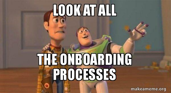 Multiple customer onboarding processes