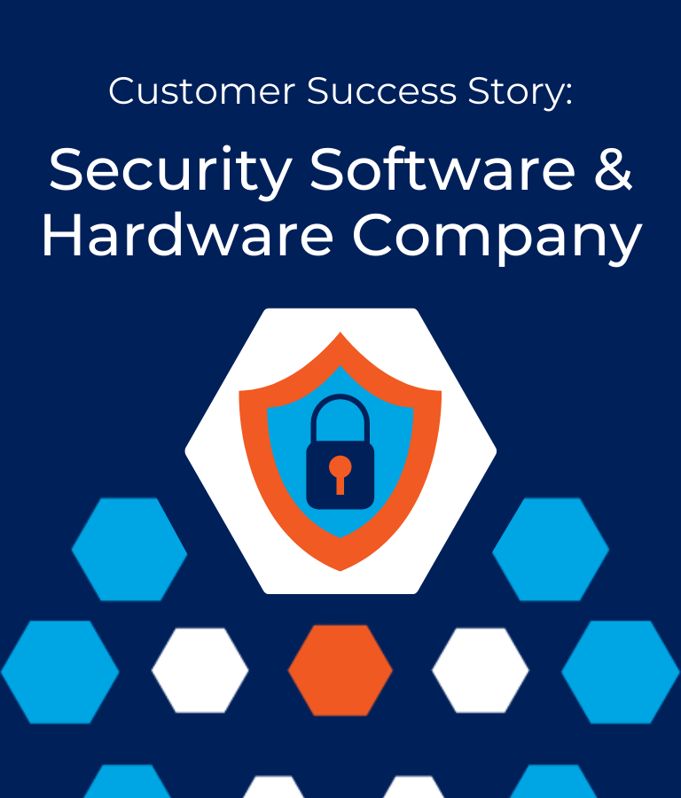 Customer Success Story-Security Hardware & Software Company