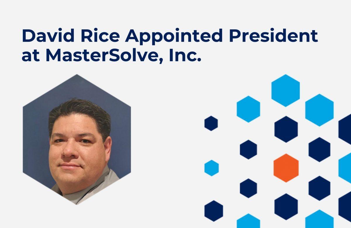 David Rice New President